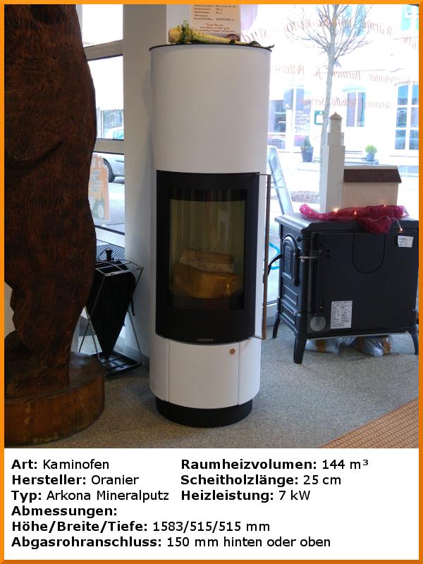 ausstellungs fen kaminofen oranier arkona. Black Bedroom Furniture Sets. Home Design Ideas